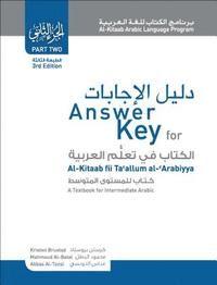 Answer Key for Al-kitaab Fii Ta Callum Al-cArabiyya