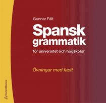 Spansk grammatik - övningsbok