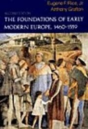 Foundations of Early Modern Europe,1460-1559