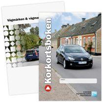 Körkortsboken + häfte vägmärken och vägmarkeringar