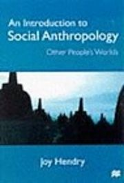 An Introduction to Social Anthropology